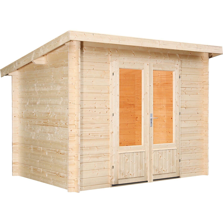 Wolff Finnhaus Holz Gartenhaus Luttich B X T 270 Cm X 200 Cm Kaufen