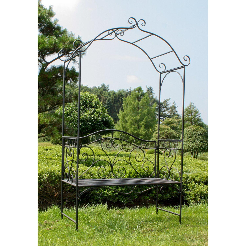 garden pleasure bank mit rosenbogen colima kaufen bei obi. Black Bedroom Furniture Sets. Home Design Ideas
