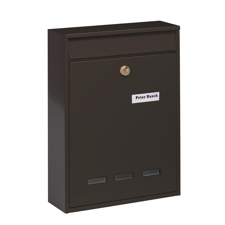 burg w chter briefkasten k ln 872 braun kaufen bei obi. Black Bedroom Furniture Sets. Home Design Ideas