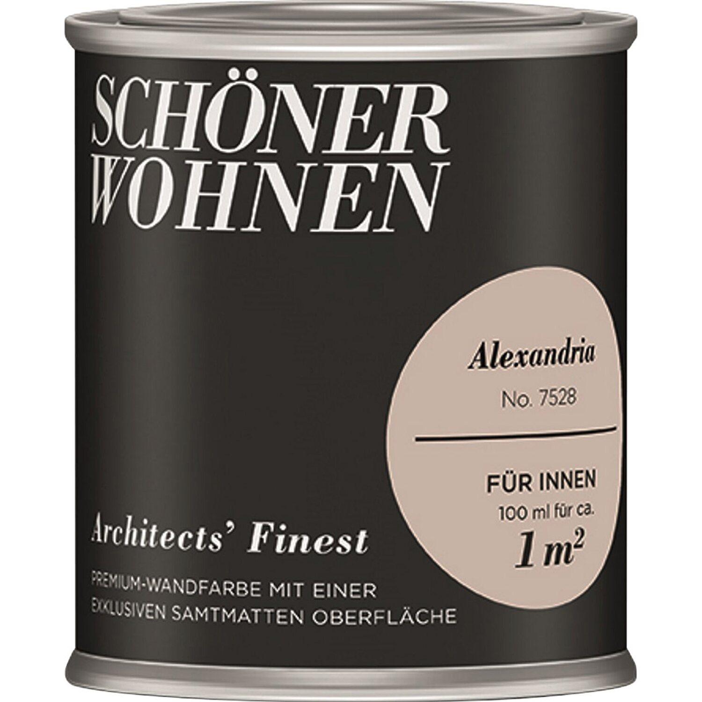 Schöner Wohnen Architectsu0027 Finest Alexandria Samtmatt 100 Ml