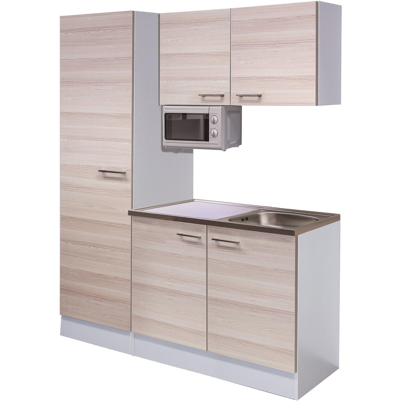 flex well singlek che 150 breit akazia akazie wei kaufen bei obi. Black Bedroom Furniture Sets. Home Design Ideas