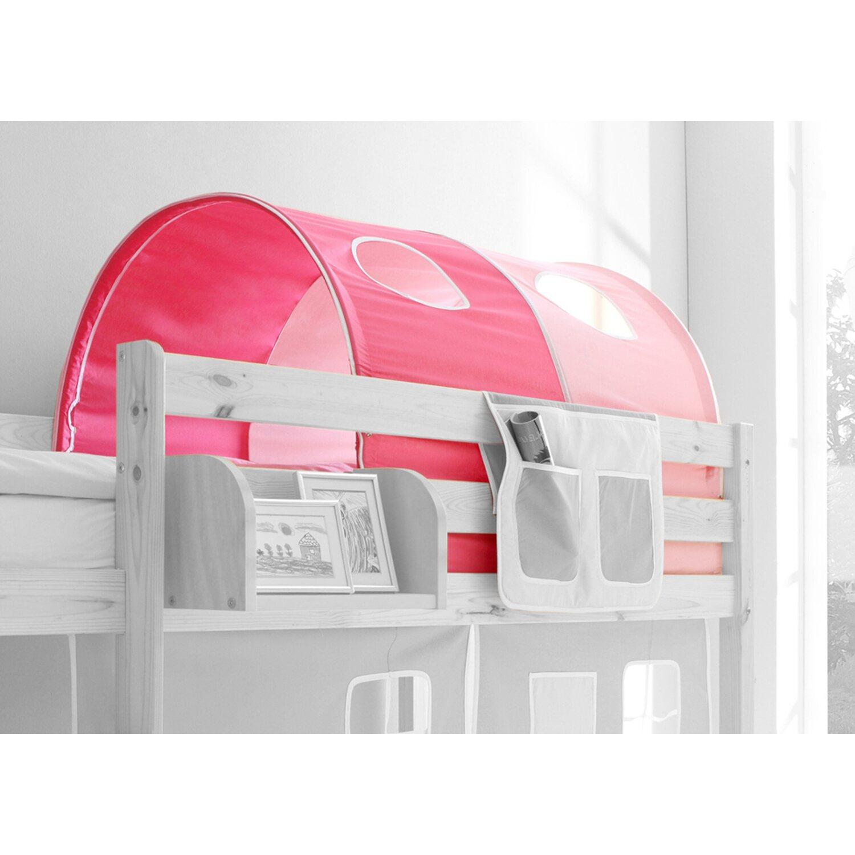 Tunnel für Hoch- und Etagenbetten Pink