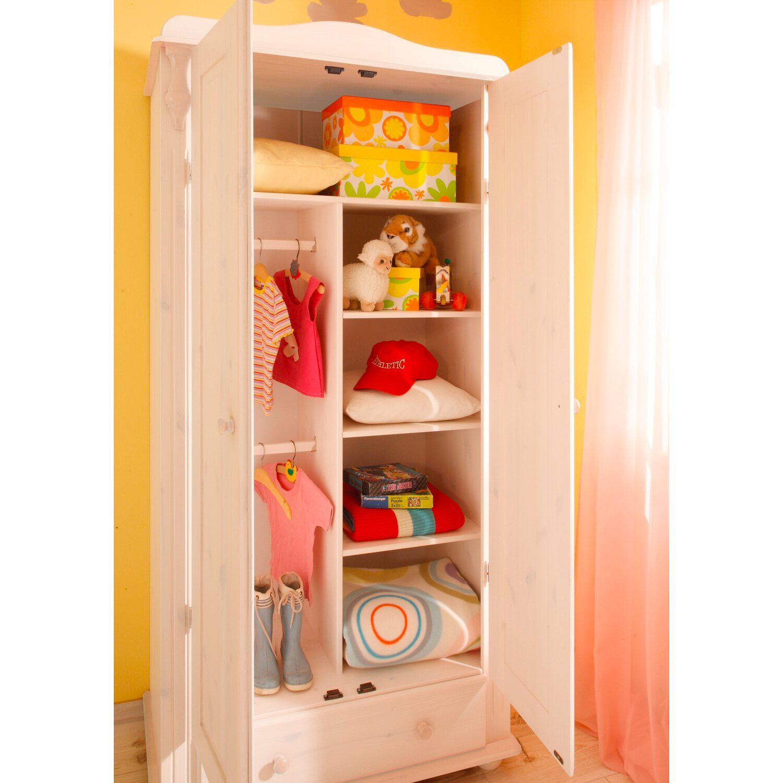babyzimmer set lara 5 teilig kiefer massiv wei kaufen. Black Bedroom Furniture Sets. Home Design Ideas