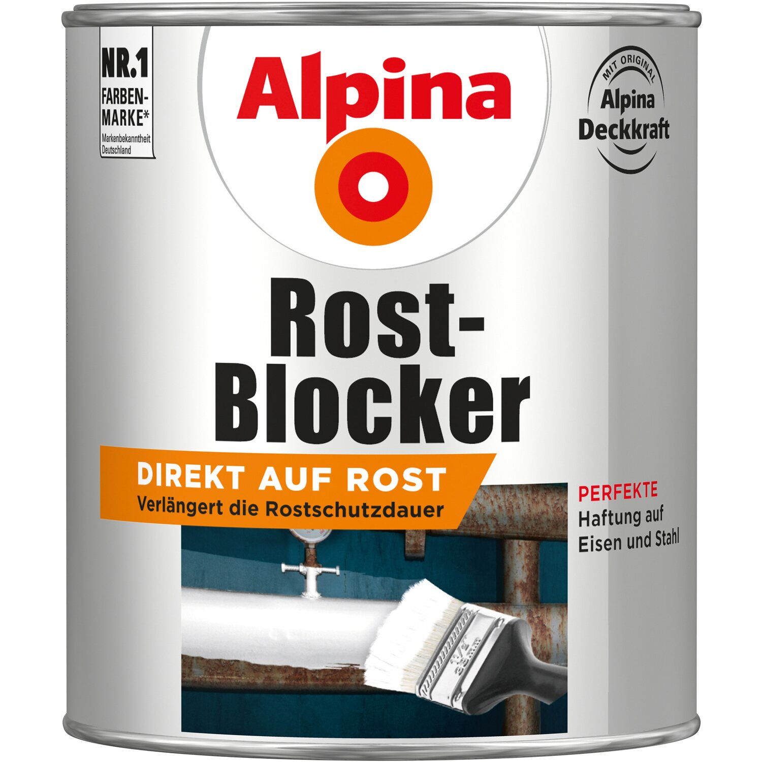 alpina rost blocker grau 750 ml kaufen bei obi. Black Bedroom Furniture Sets. Home Design Ideas