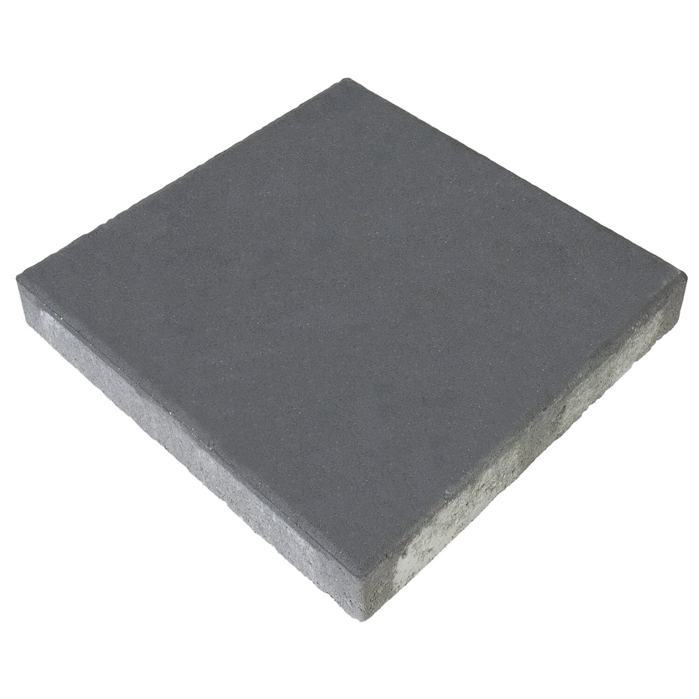Terrassenplatte Beton Anthrazit 20 cm x 20 cm x 20 cm