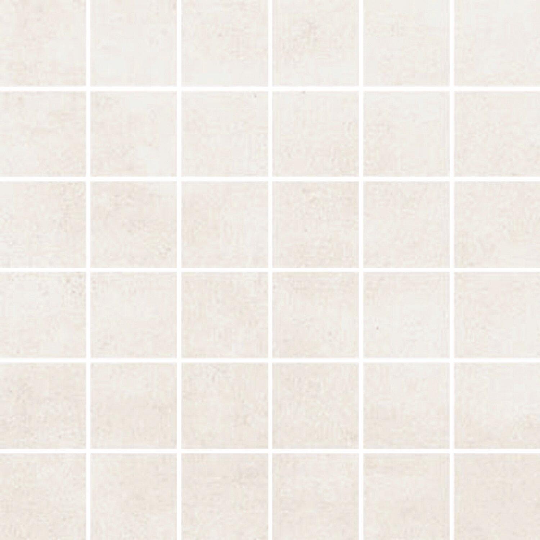 Maxi Keramik Mosaik Agrera Feinsteinzeug Weiß 29,2 cm x 29,2 cm