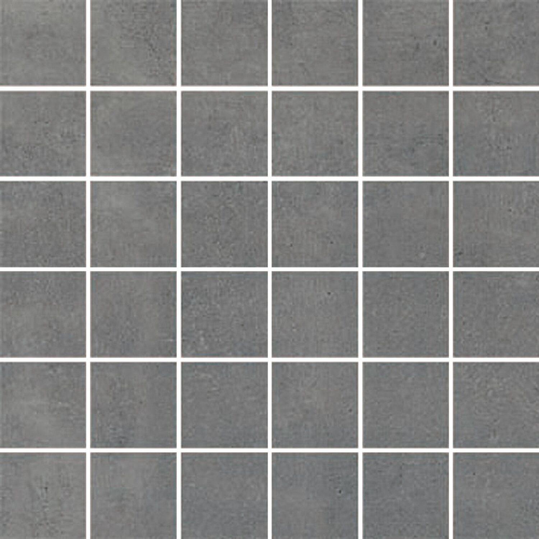 Maxi Keramik Mosaik Agrera Feinsteinzeug Grau 29,2 cm x 29,2 cm