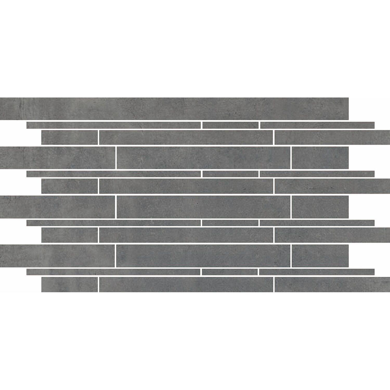 Maxi Keramik Kombibordüre Feinsteinzeug Agrera Grau 29,2 cm x 59,2 cm | Baumarkt > Wand und Decke > Bordüren