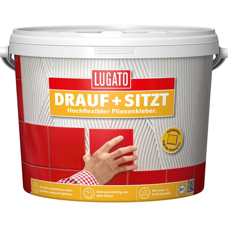 Lugato Fertigkleber Dispersionsklebstoff Drauf + Sitzt 10 kg