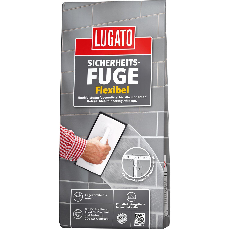 Top Lugato Fugenmörtel Sicherheitsfuge Flexibel 1 kg Manhattan kaufen JW57