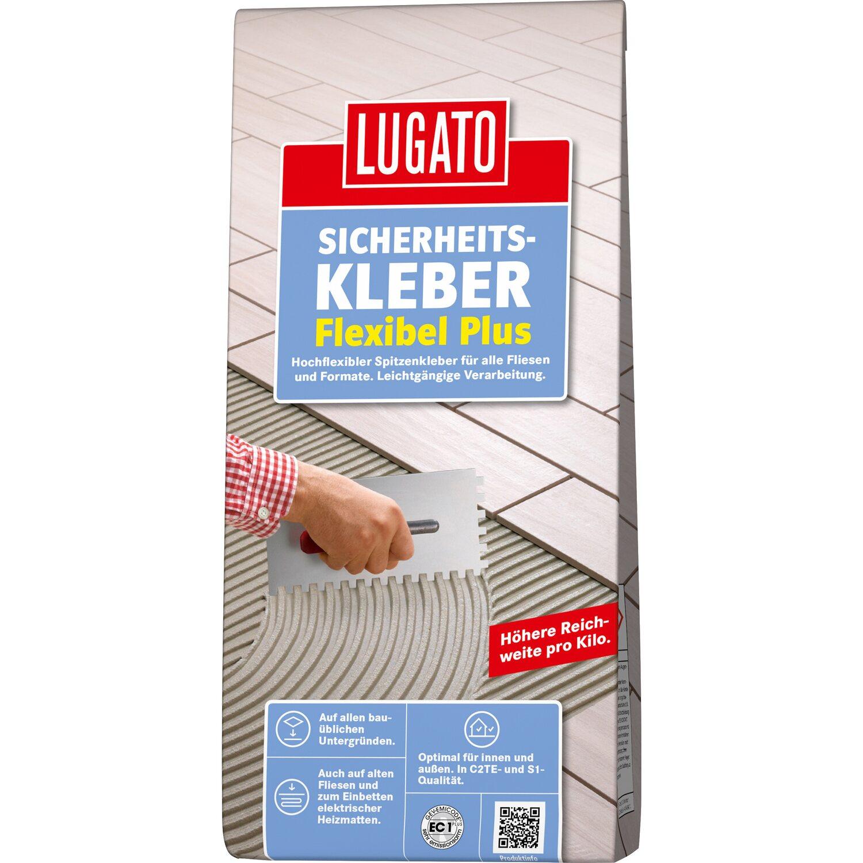 Lugato Fliesenkleber Sicherheitskleber Flexibel Plus 3,5 kg