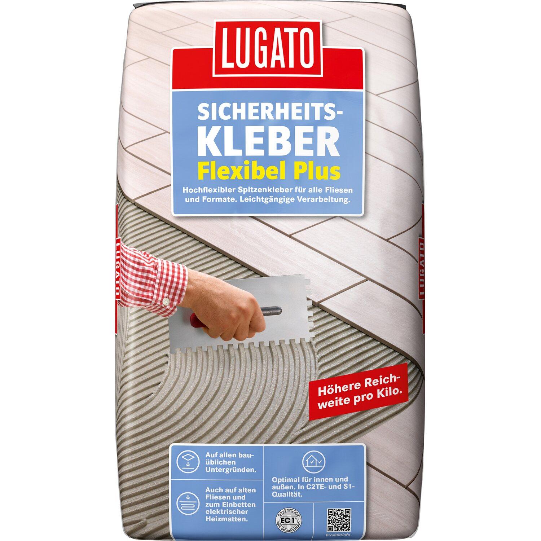 Lugato Fliesenkleber Sicherheitskleber Flexibel Plus 18 kg