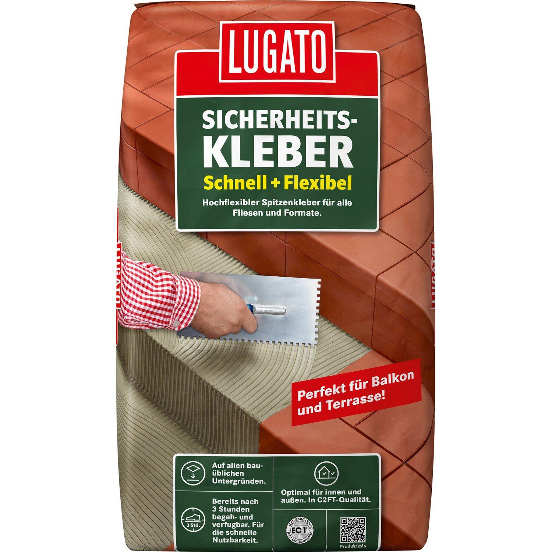 Lugato Fliesenkleber Sicherheitskleber Schnell + Flexibel 25 kg