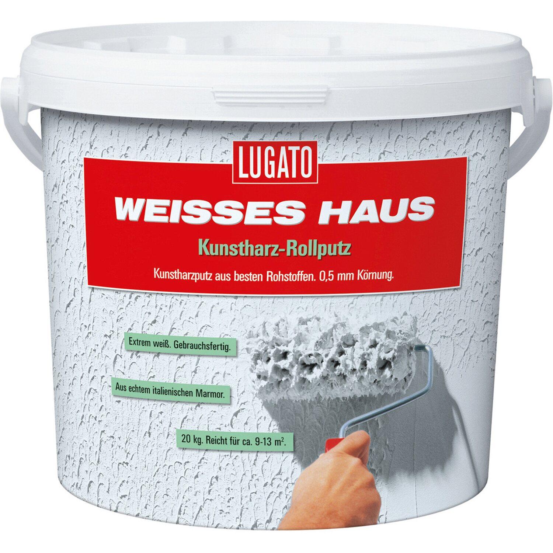 Sehr Kunstharz-Rollputz Weisses Haus 8 kg Körnung 0,5 mm kaufen bei OBI PS71