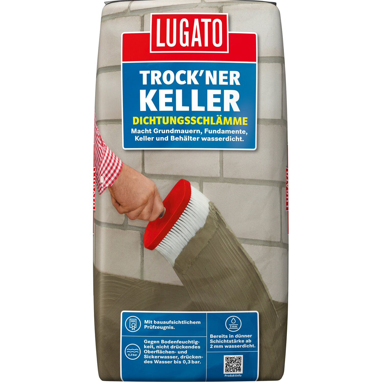 Lugato Dichtungsschlämme  Trock´ner Keller 25 kg