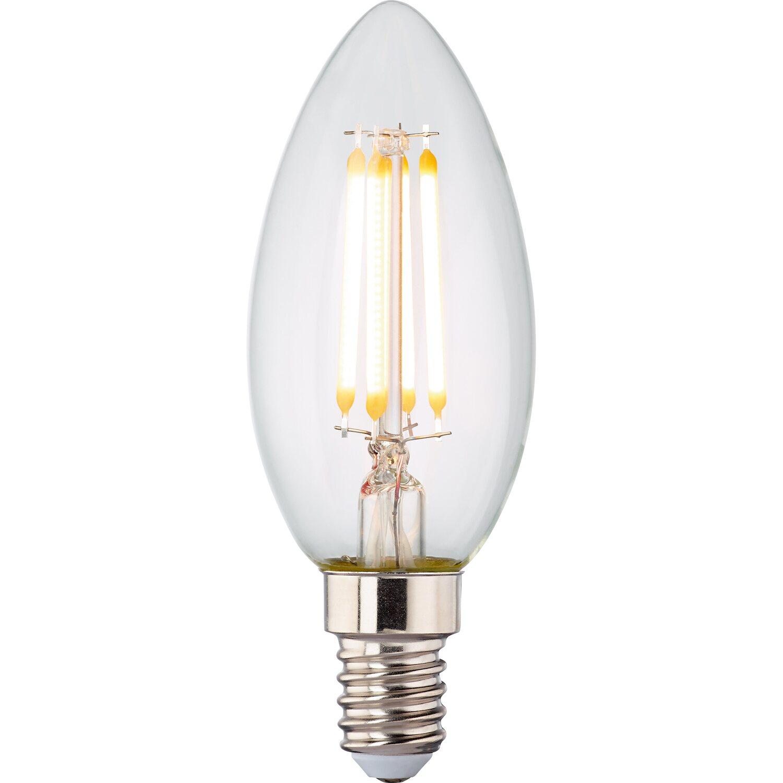 obi led filament leuchtmittel kerzenform e14 4 8 w 470. Black Bedroom Furniture Sets. Home Design Ideas
