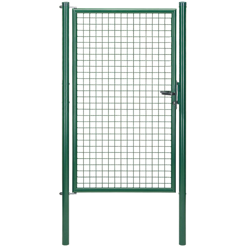 GAH Alberts Einzeltor für Maschendraht- und Fix-Clip Pro-Zaun Grün 175 cm x 100 cm