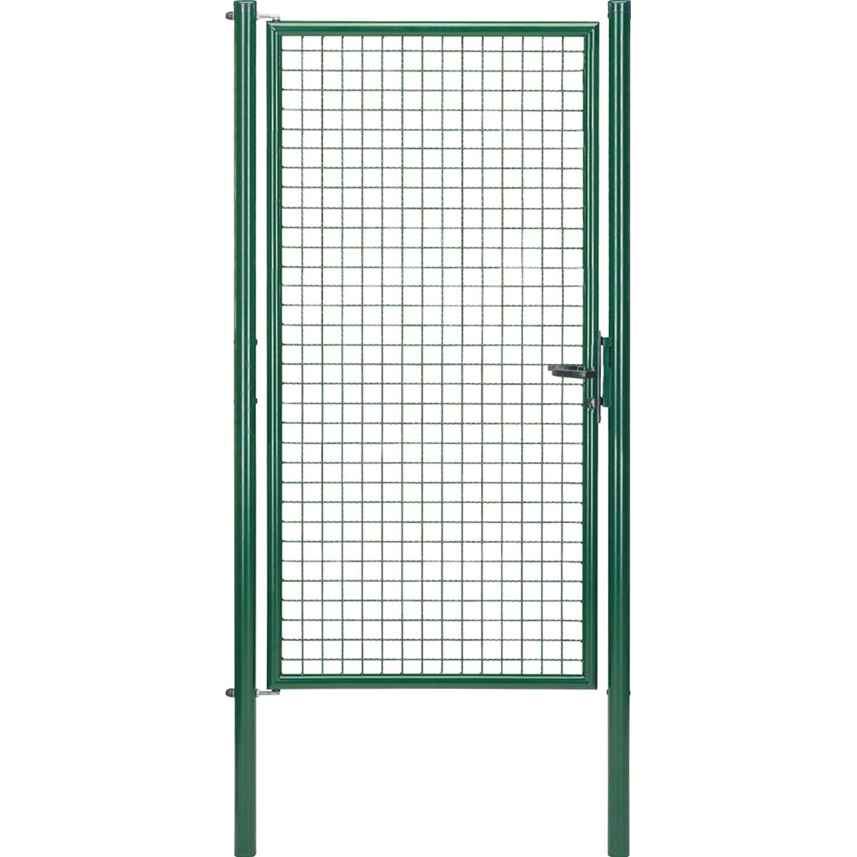 GAH Alberts Einzeltor für Maschendraht- und Fix-Clip Pro-Zaun Grün 200 cm x 100 cm