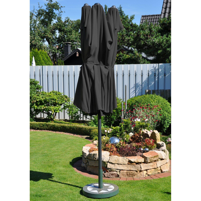 Leco Oval Schirm Anthrazit Kaufen Bei Obi