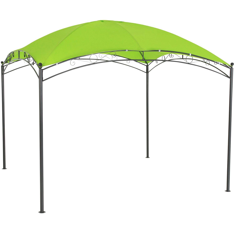 leco pavillon trend 3 m x 3 m gr n kaufen bei obi. Black Bedroom Furniture Sets. Home Design Ideas