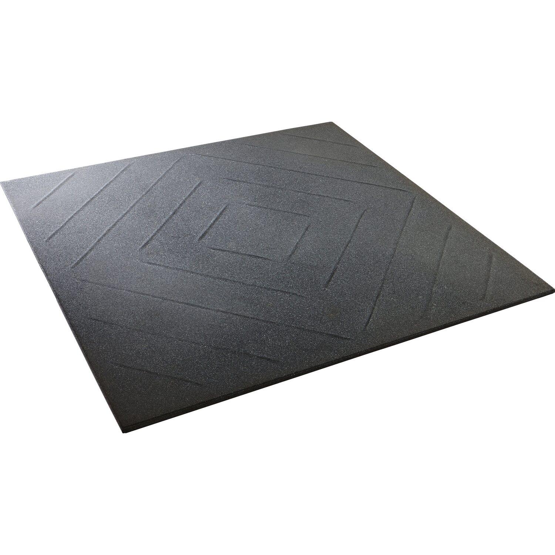 Garagenplatte Vollgummi Schwarz 200 cm x 200 cm x 200,20 cm kaufen bei OBI