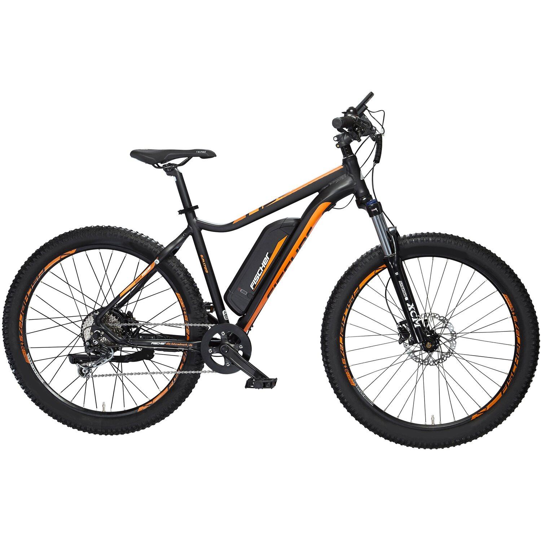 FISCHER FAHRRAD FISCHER e-bike MOUNTAINBIKE EM 1723, 27,5 Zoll, Hinterradmotor 48V/557Wh und Shimano Deore-Schaltwerk