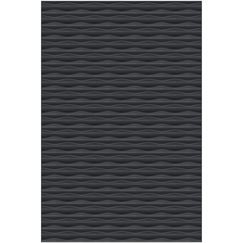 Sichtschutzzaun Element Flow 120 cm x 180 cm Anthrazit kaufen bei OBI