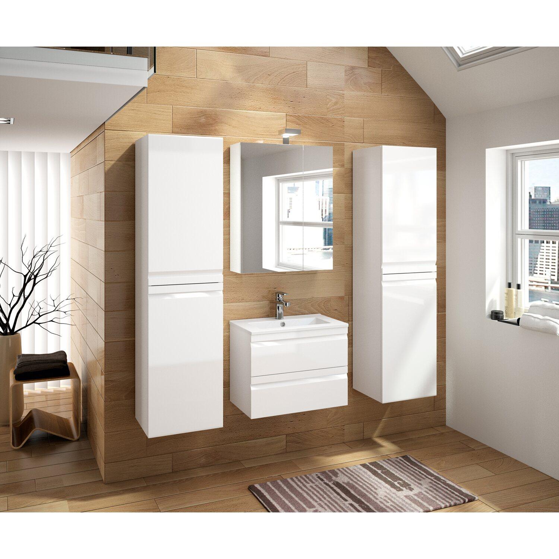 allibert badm bel set accent wei 60 cm 5 teilig eek a kaufen bei obi. Black Bedroom Furniture Sets. Home Design Ideas
