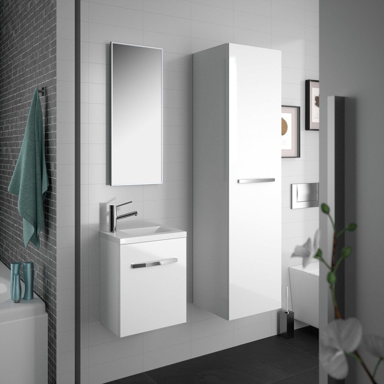 allibert badm bel set adept wei 40 cm 4 teilig kaufen bei obi. Black Bedroom Furniture Sets. Home Design Ideas