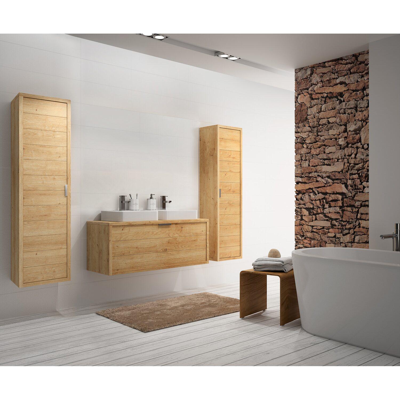 allibert badm bel set palermo eiche hell 120 cm 5 teilig. Black Bedroom Furniture Sets. Home Design Ideas