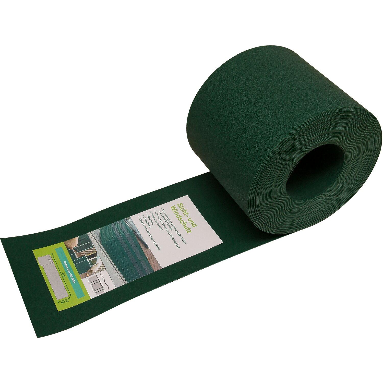 PVC Sichtschutzstreifen Grün Höhe 19 cm Länge 25 m kaufen bei OBI