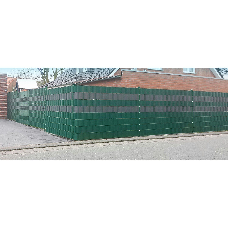 PVC Sichtschutzstreifen Anthrazit Höhe 19 cm Länge 25 m kaufen bei OBI