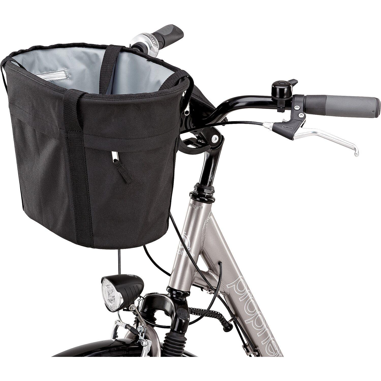 fahrrad einkaufs korb mit textil berzug f r vorne kaufen. Black Bedroom Furniture Sets. Home Design Ideas