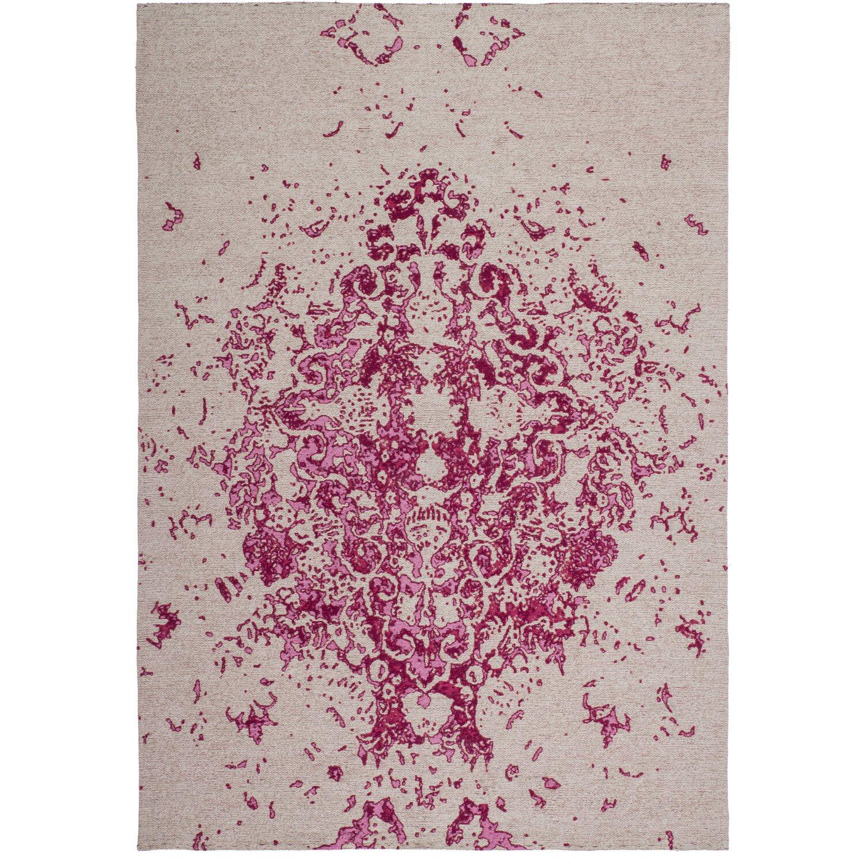 Sonstige Flachflorteppich Richard Kayoom Elfenbein / Pink