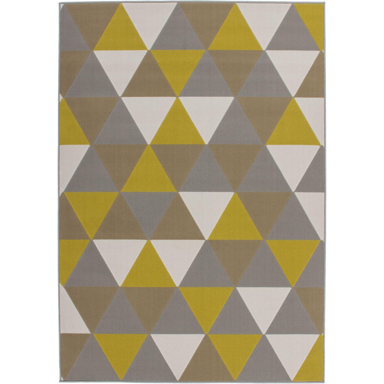 Sonstige Flachflorteppich Hans Kayoom Multi / Gold