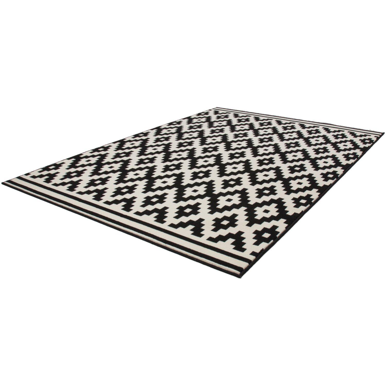 teppich icon 510 schwarz wei 80 cm x 150 cm kaufen bei obi. Black Bedroom Furniture Sets. Home Design Ideas