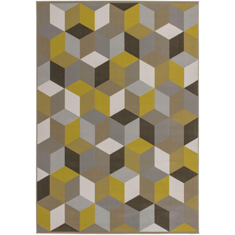 Sonstige Flachflorteppich Rigo Kayoom Gold