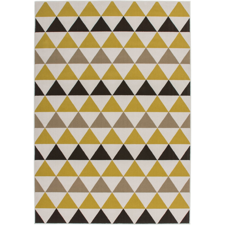 Sonstige Flachflorteppich Ruben Kayoom multi/gold