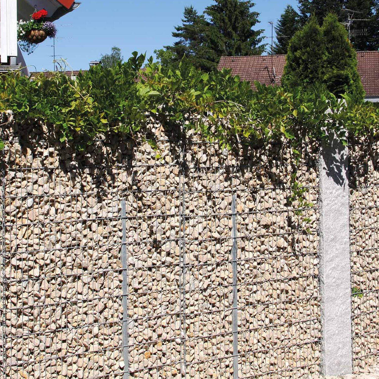 bellissa gabionen mauer limes mit kalkstein f llung 115 cm x 12 cm x 90 cm kaufen bei obi. Black Bedroom Furniture Sets. Home Design Ideas