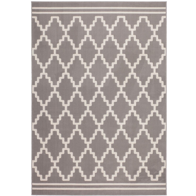 Teppich Retro 410 Taupe-Elfenbein 120 cm x 170 cm | Heimtextilien > Teppiche > Sonstige-Teppiche | Muster