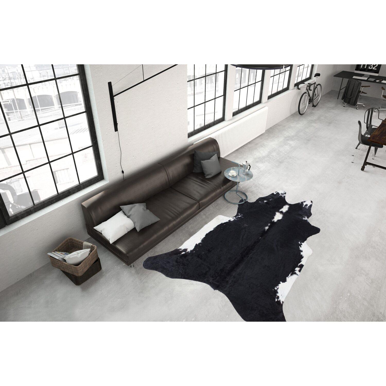 teppich vachette 646 schwarz wei 155 cm x 220 cm kaufen bei obi. Black Bedroom Furniture Sets. Home Design Ideas