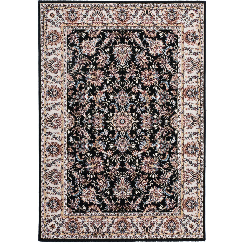 Sonstige Teppich Dalia 511 Schwarz 80 cm x 150 cm