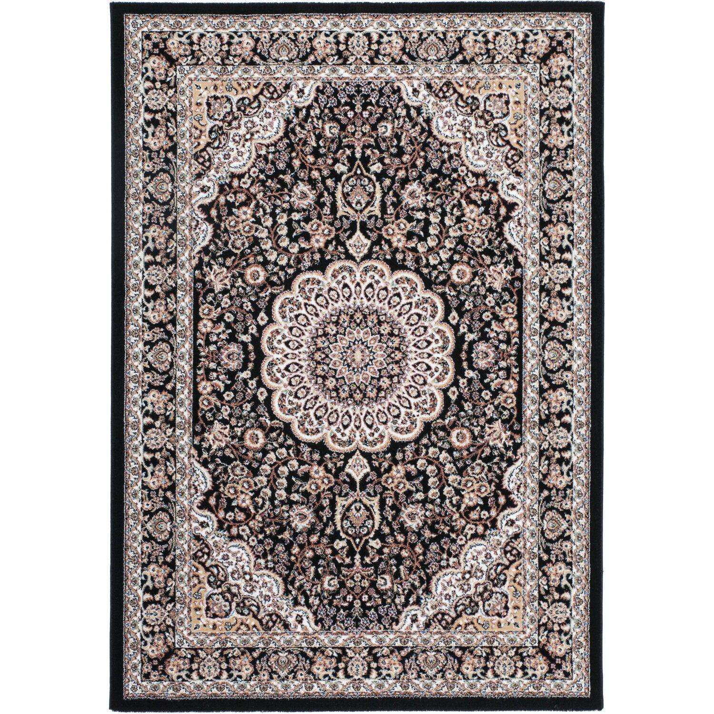Sonstige Teppich Dalia 510 Schwarz 80 cm x 150 cm
