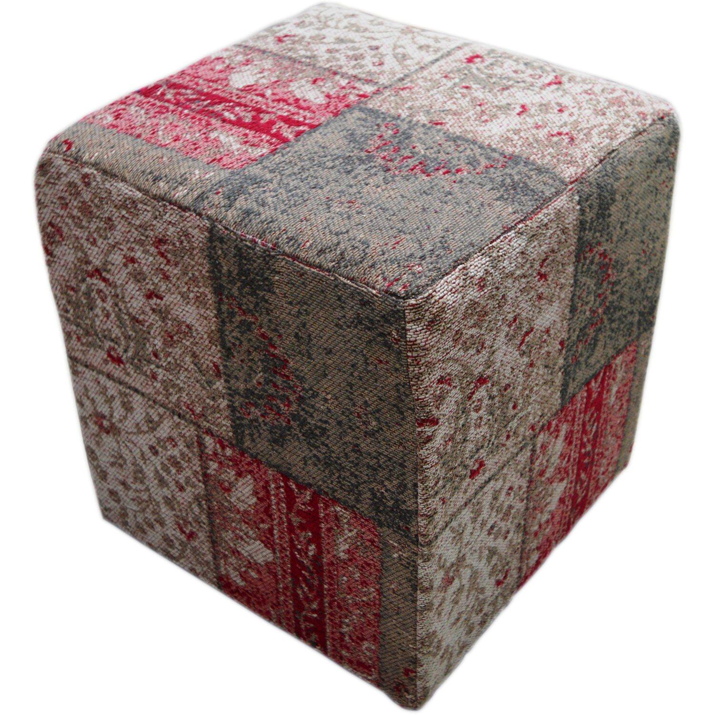 pouf bavaria 610 multicolor 42 cm x 42 cm kaufen bei obi. Black Bedroom Furniture Sets. Home Design Ideas