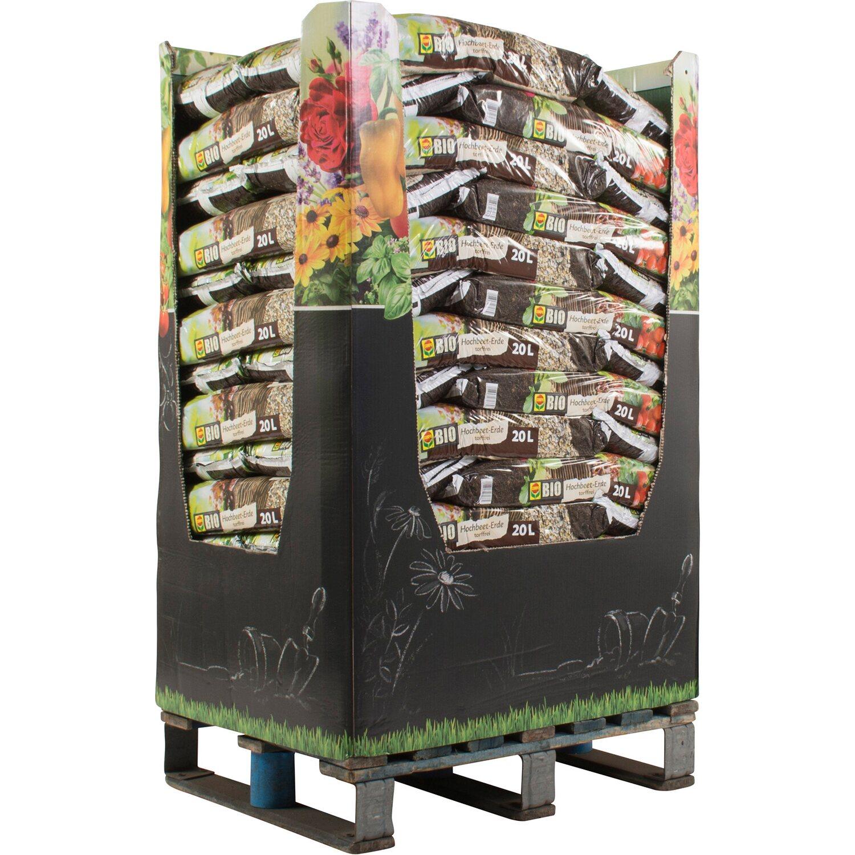 Compo  Bio Hochbeet-Erde 900 l (45 x 20 l) 1 Halbpalette