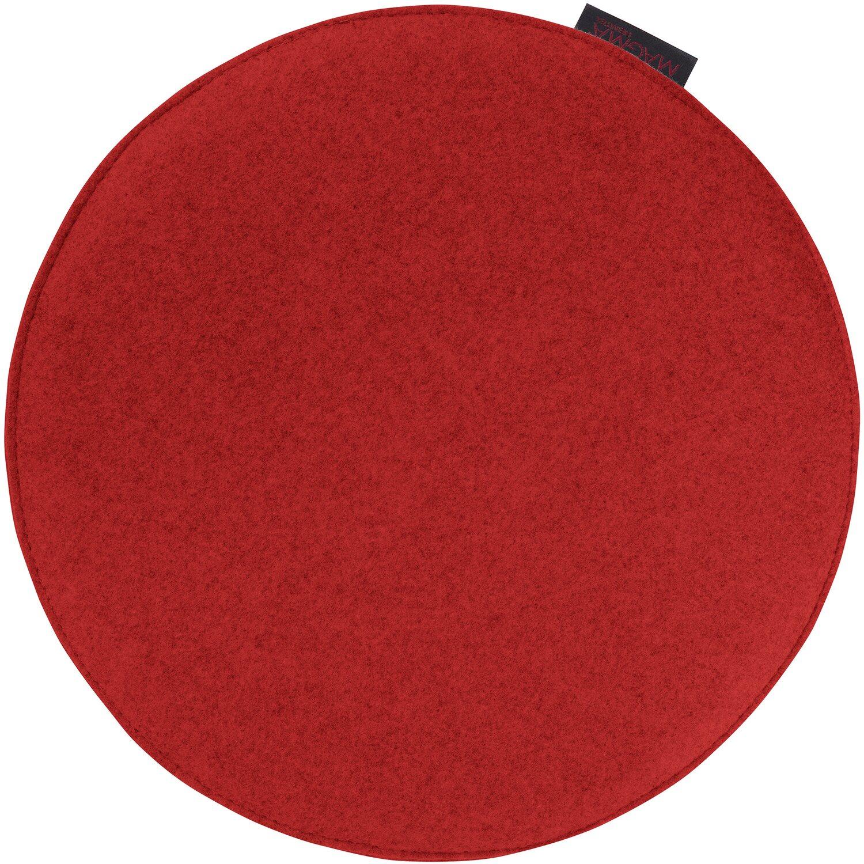 magma stuhlkissen avaro 35 cm rot kaufen bei obi. Black Bedroom Furniture Sets. Home Design Ideas