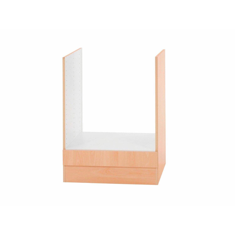 herdumbauschrank klassik 60 buche 60 cm ohne arbeitsplatte kaufen bei obi. Black Bedroom Furniture Sets. Home Design Ideas
