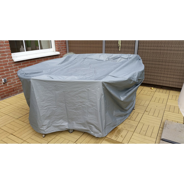 Gartenfreude Schutzhulle Deluxe Fur Gartentisch Oval 230 Cm X 160 Cm