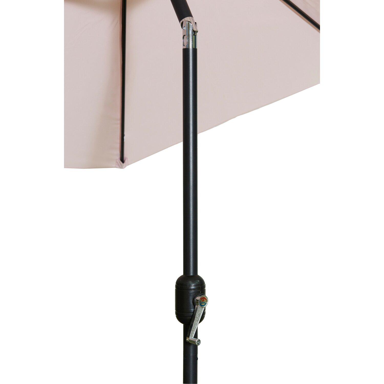 gartenfreude sonnenschirm 300 cm pastell rosa kaufen bei obi. Black Bedroom Furniture Sets. Home Design Ideas