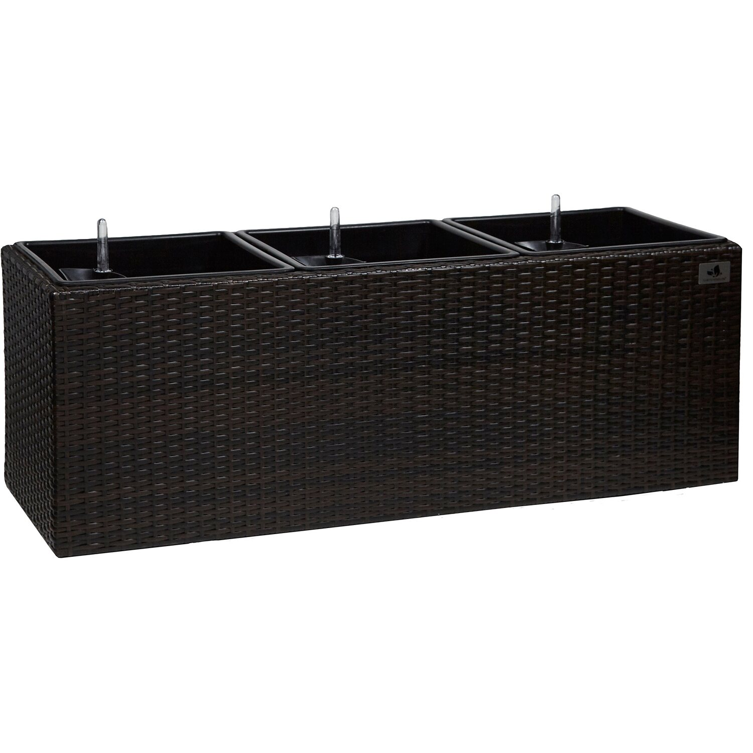 gartenfreude pflanzk bel polyrattan 102 cm x 36 cm. Black Bedroom Furniture Sets. Home Design Ideas